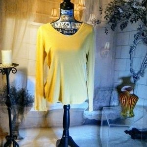 Women's Yellow Sonoma Long Sleeve Large